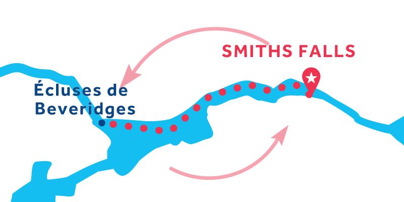 Smiths Falls RETURN via Beveridges