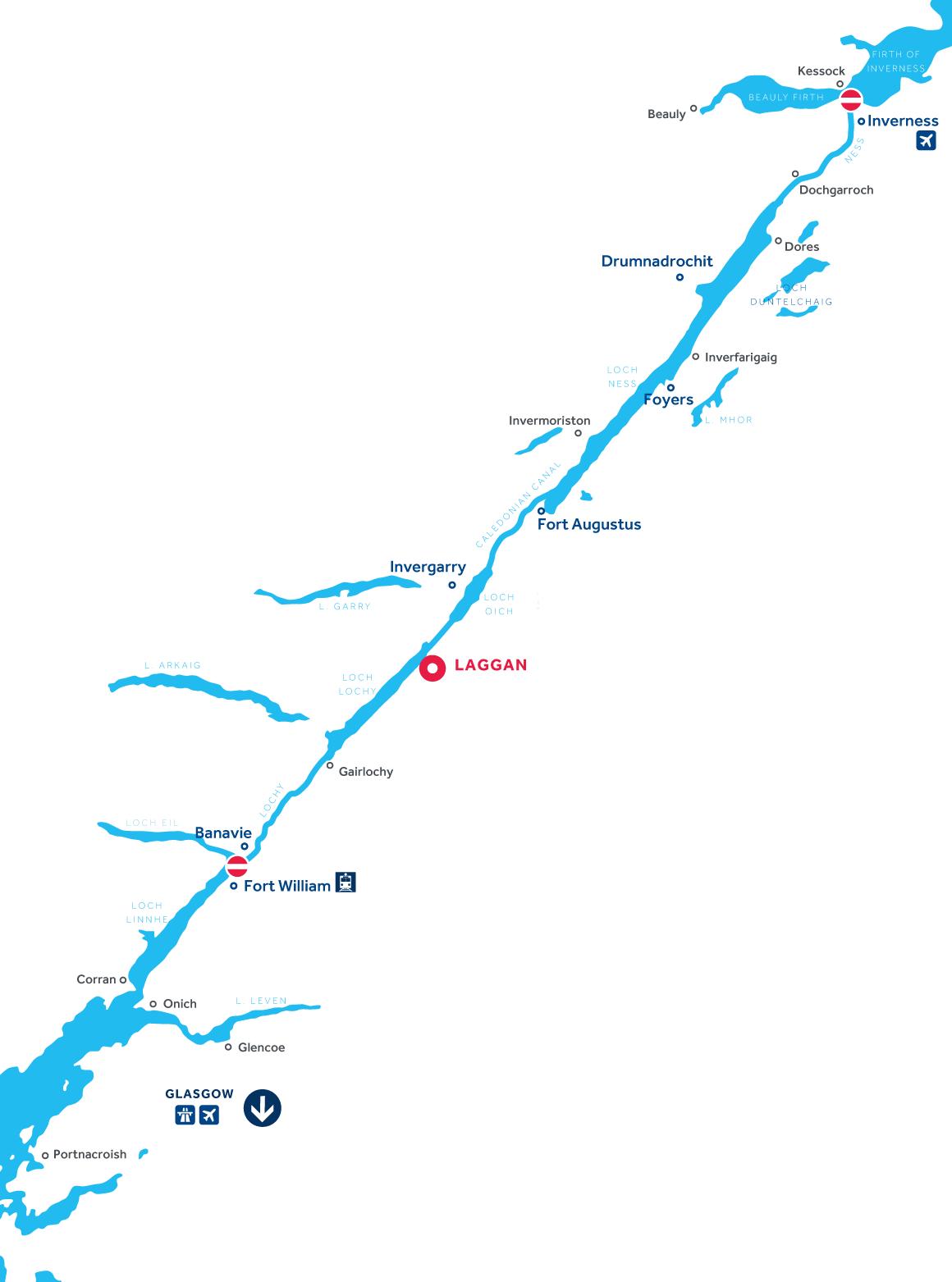 Carte: Canal Calédonien
