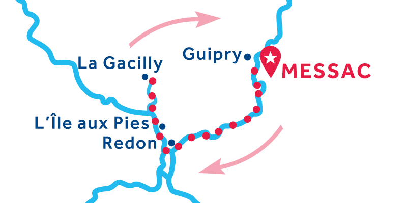 Messac RETURN via La Gacilly