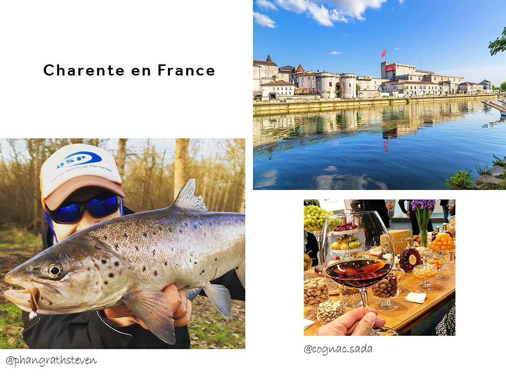 La Charente en France