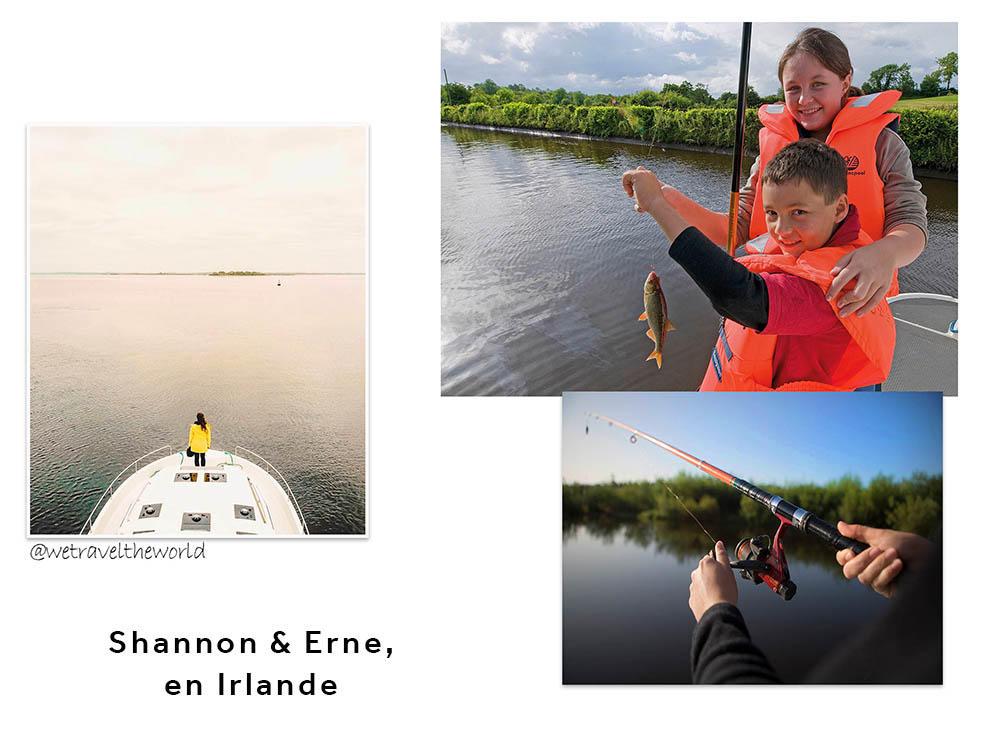 Le Shannon & Erne en Irlande