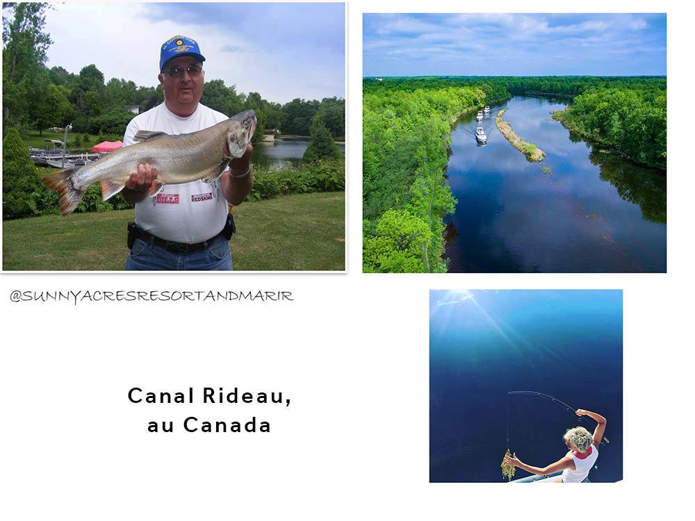 Le Canal Rideau au Canada