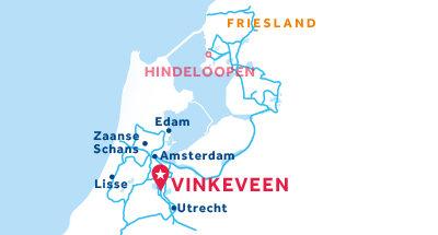 Kaart van de basis in Vinkeveen