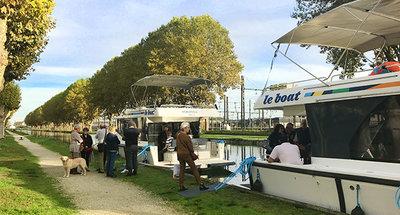 Verslag van de Le Boat informatiedag in Migennes, Frankrijk