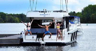 Les vacances fluviales avec Le Boat