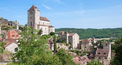 Saint-Cirq Lapopie, een van de mooiste dorpen in Frankrijk