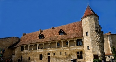 Kasteel van Henry IV in Nerac