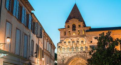 Mooi Frans stadsplein