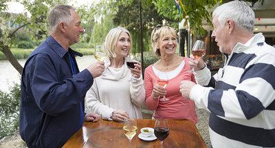 Wijnproeverij in Bourgondië
