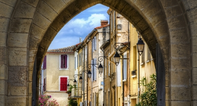 Middeleeuws stad Aigues Mortes