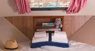 Hutten en badkamers Minuetto 6+
