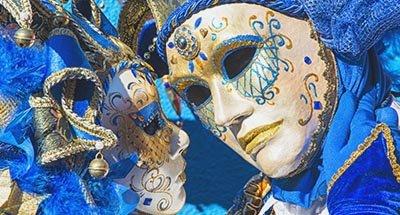 Venetiaanse carnavalsmaskers