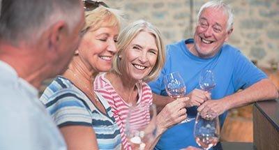 Wijnproeven met een groep