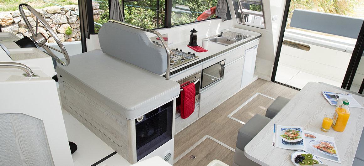 Horizon 3 - salon & keuken