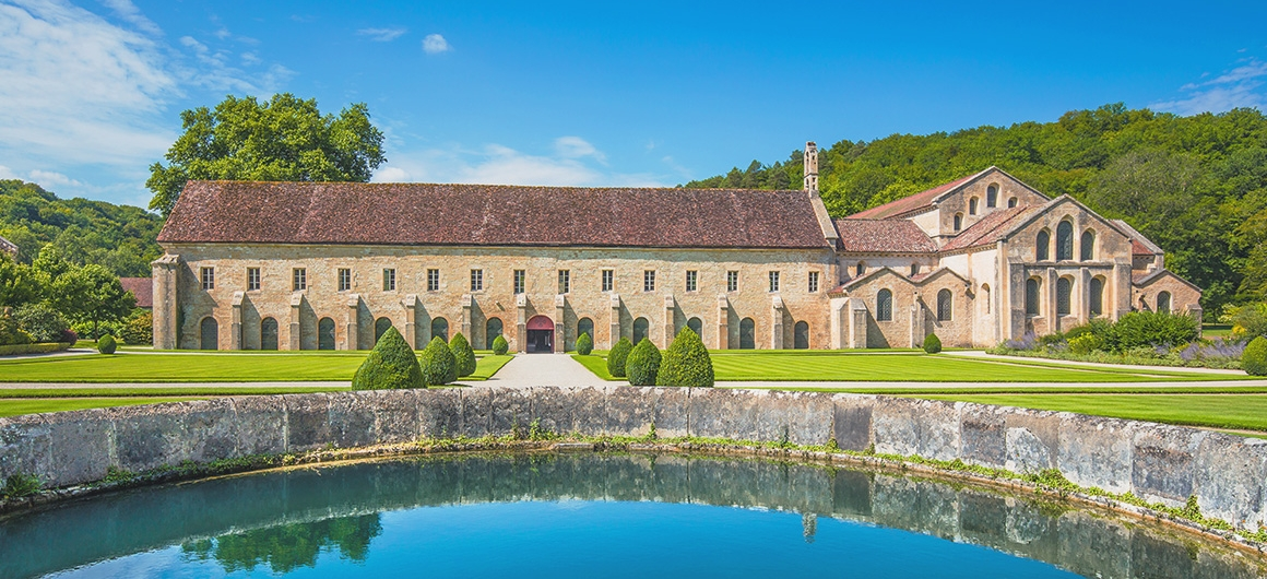 Klooster Fontenay in Montbard