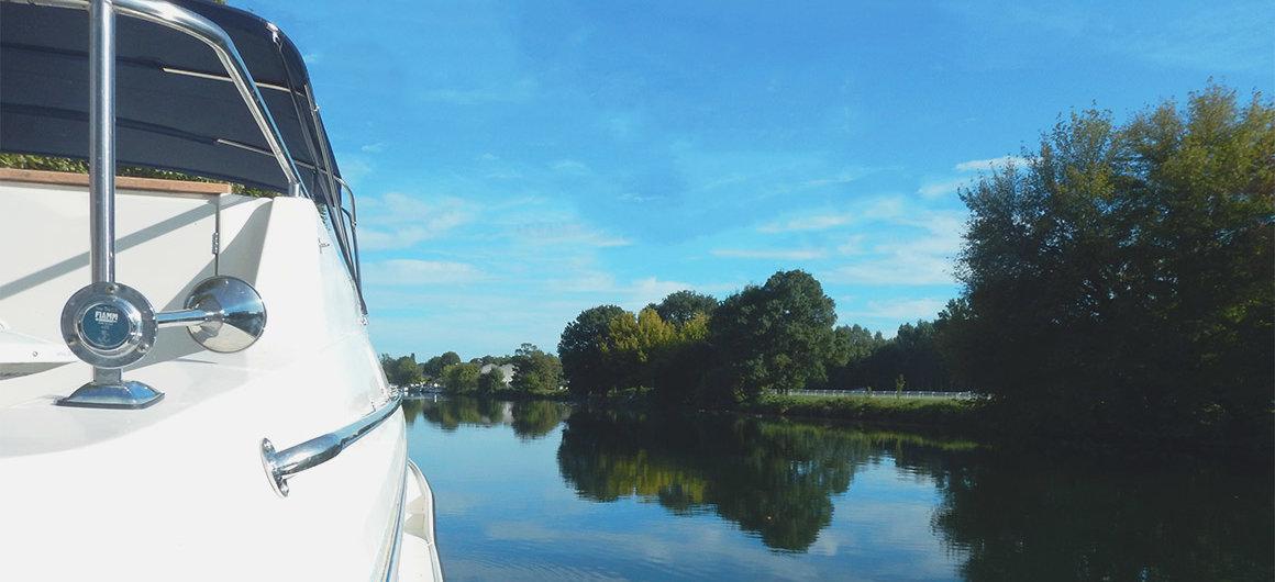 Le Boot op de Charente