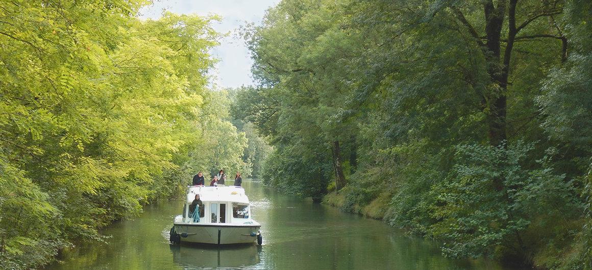 Aanmeren in Charente