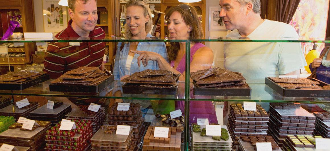 Belgische chocolaatjes