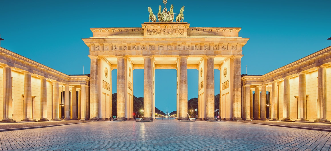 Brandenburgse Poort, Berlijn, Duitsland