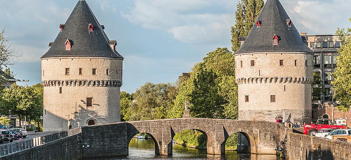 De Broeltorens in Kortrijk