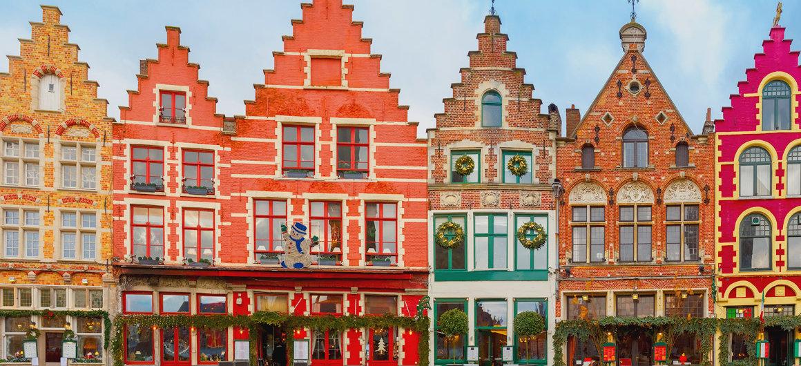 Kleurrijk Brugge