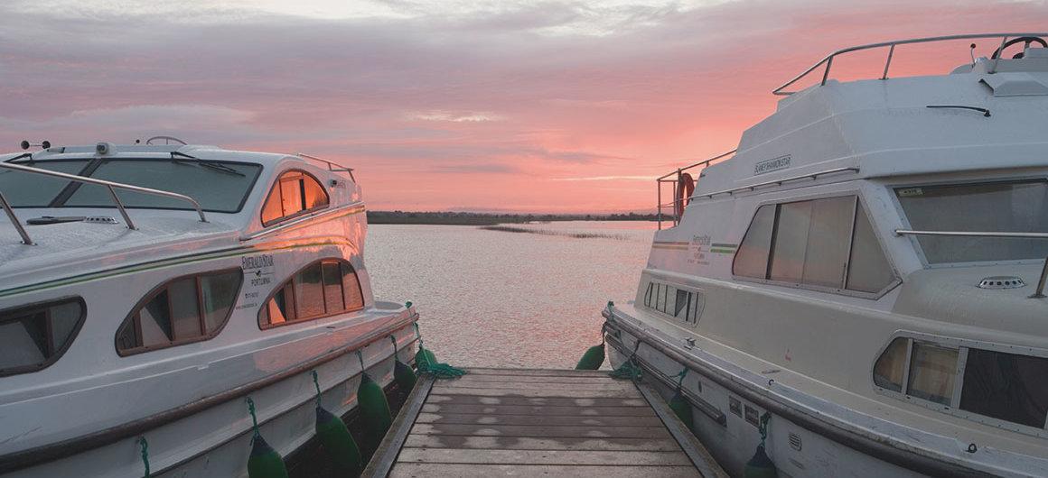 Notre flotte Emerald Star près de Clonmacnoise, Irlande