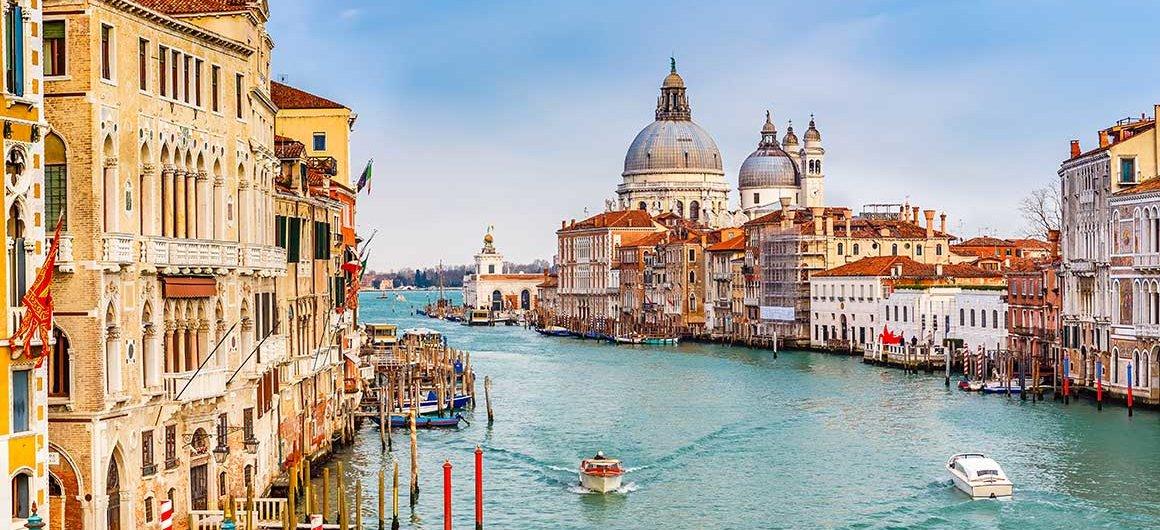 Grand Canal, Venetië, Italië