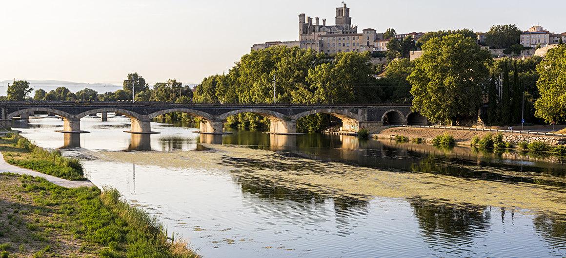 Rivière à Béziers