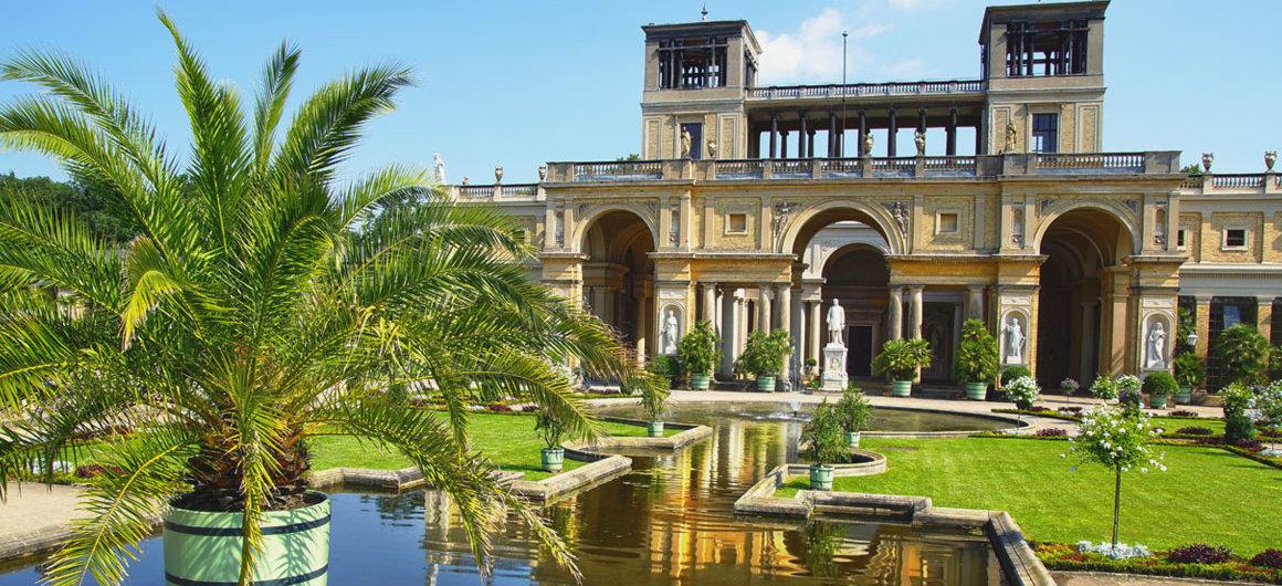 Kasteel Sanssouci in de stijl van rococo, Potsdam, Duitsland