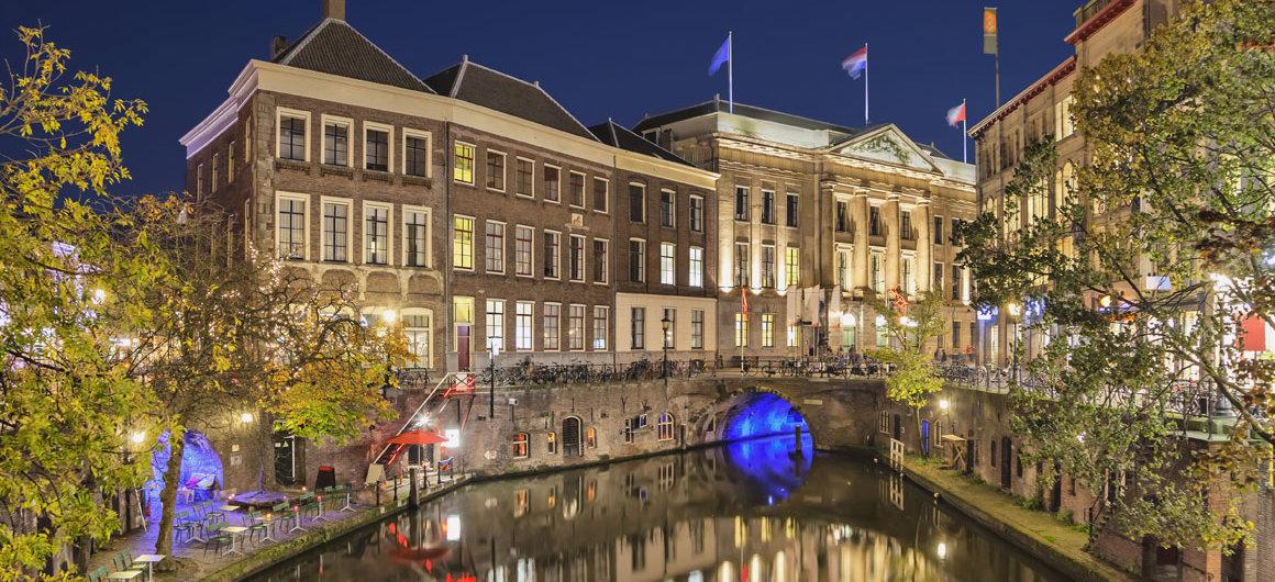 Le canal de nuit, Utrecht