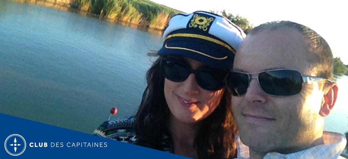 Capitaines Paul et Mélanie