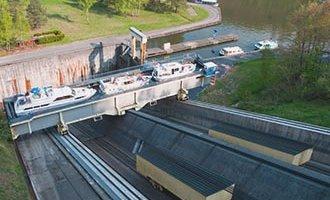 Arzviller Boat lift