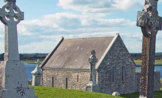 Grafstenen in Clonmacnoise